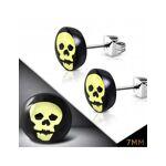 HommeBijoux Paire de boucle d'oreilles homme acier crâne tête de... par LeGuide.com Publicité