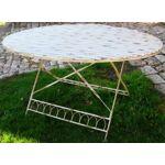Table ovale pompadour Collection Pompadour Table ovale pliante a lattes... par LeGuide.com Publicité