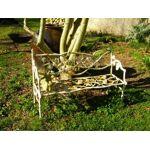 Demeure et jardin Banc raisin blanc antique Banc en fonte de couleur... par LeGuide.com Publicité