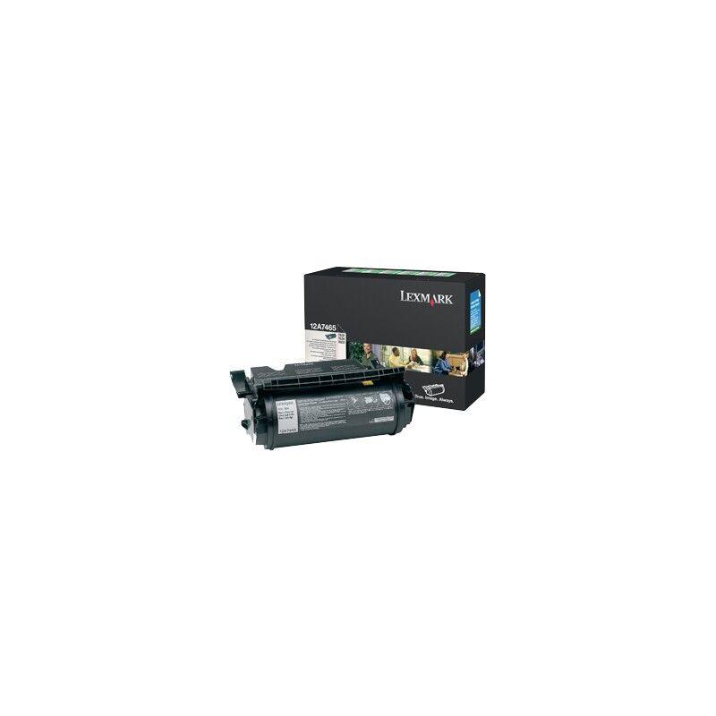 Lexmark Cartouche Toner T63X THC Noire 32 000 pages LRP