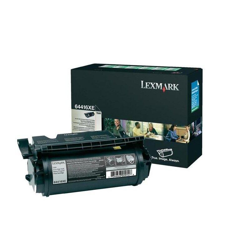 Lexmark Cartouche Toner T644 THC Noir 32 000 pages LRP
