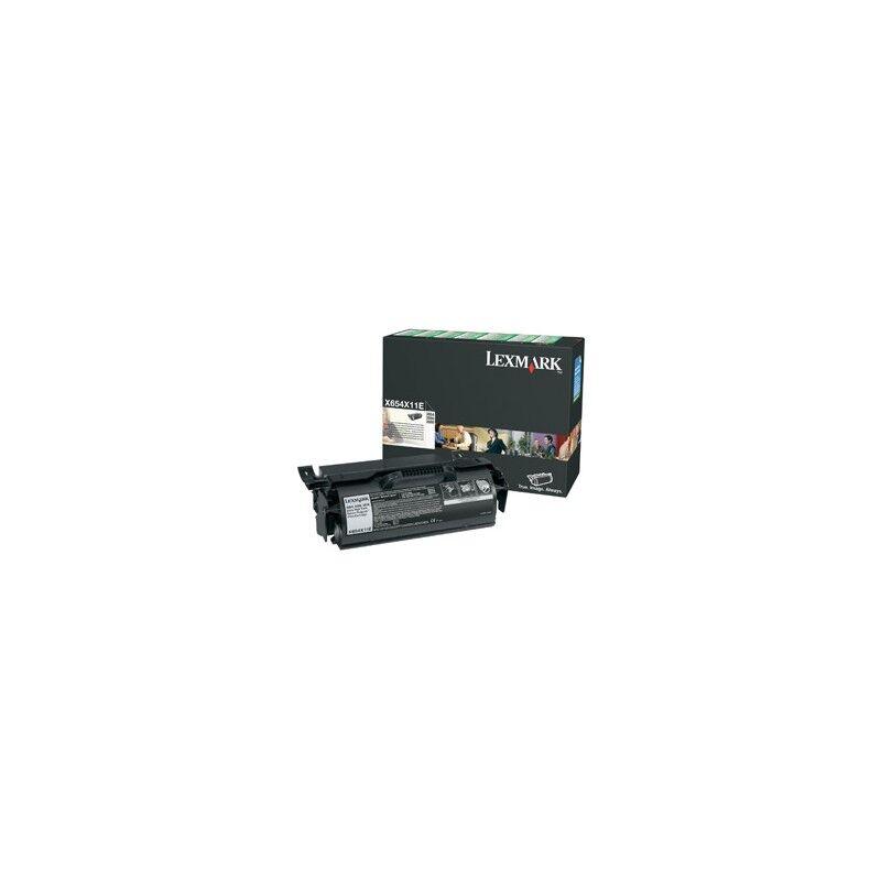 Lexmark Cartouche Toner X65X THC Noire 36 000 pages LRP
