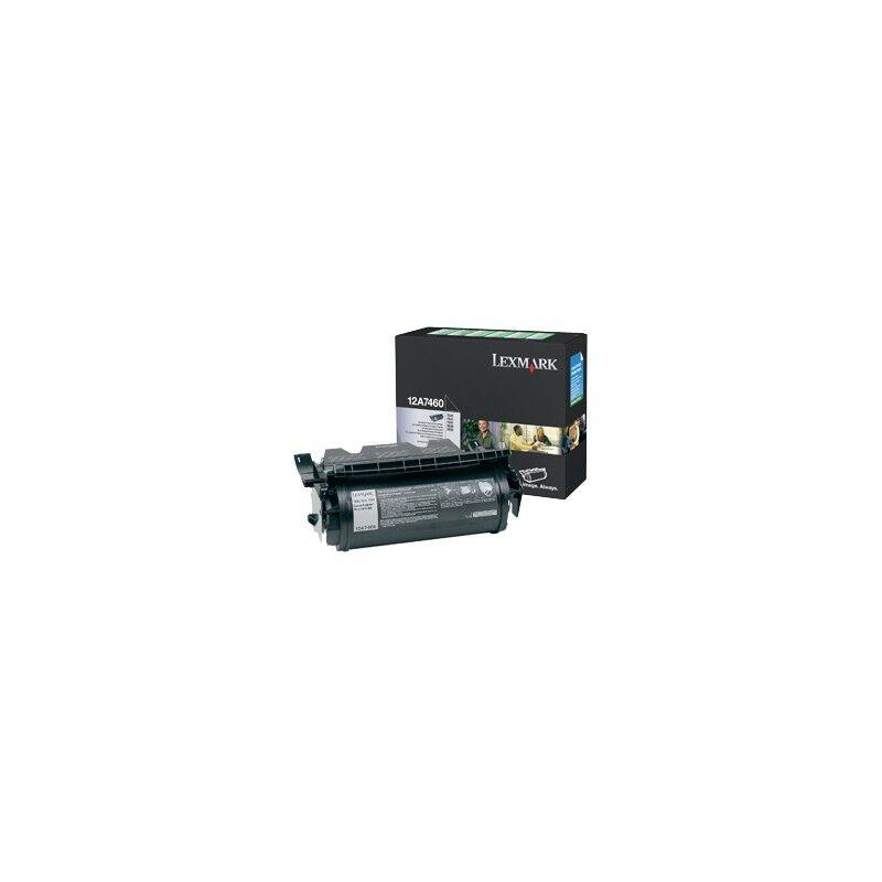 Lexmark Cartouche Toner T63X Noir 5 000 pages LRP
