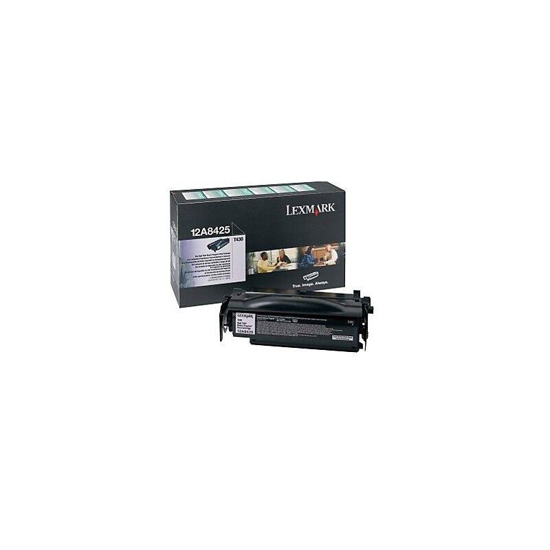 Lexmark Cartouche Toner T430 Haute Capacité Noire 12 000 pages LRP