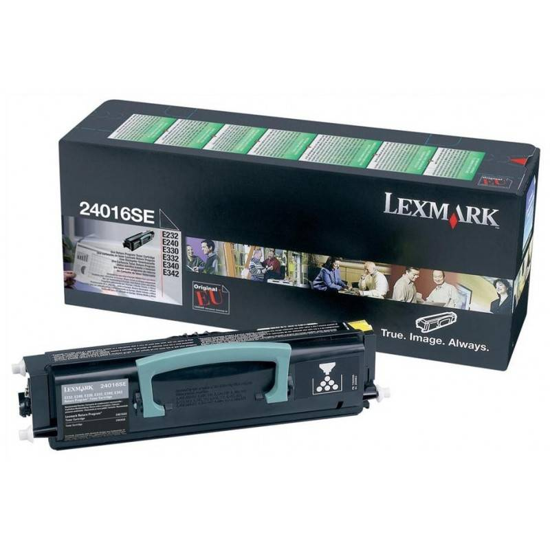Lexmark Cartouche Toner E23X Noir 2 500 pages LRP