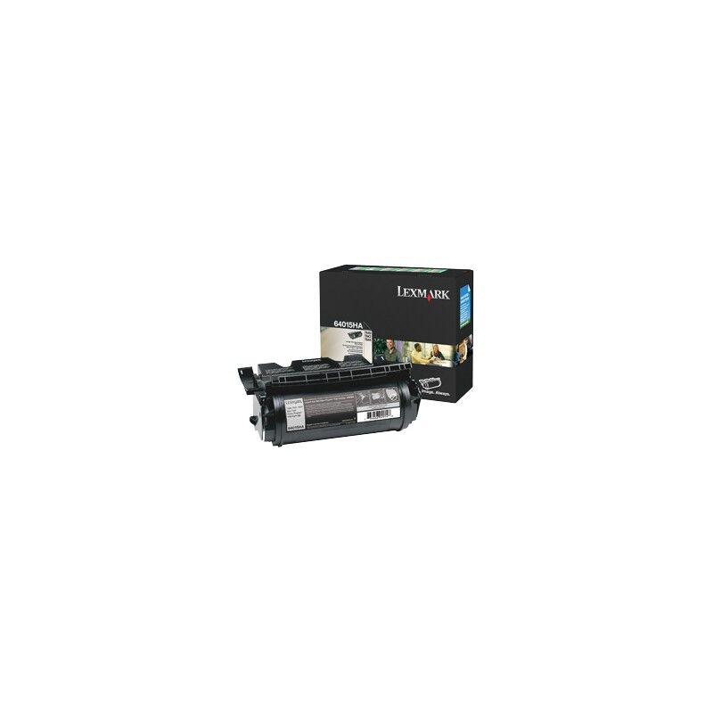 Lexmark Cartouche Toner T64X Haute Capacité Noir 21 000 pages LRP