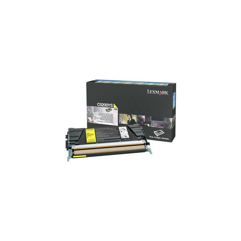 Lexmark Cartouche Toner C5X Jaune 1 500 pages LRP