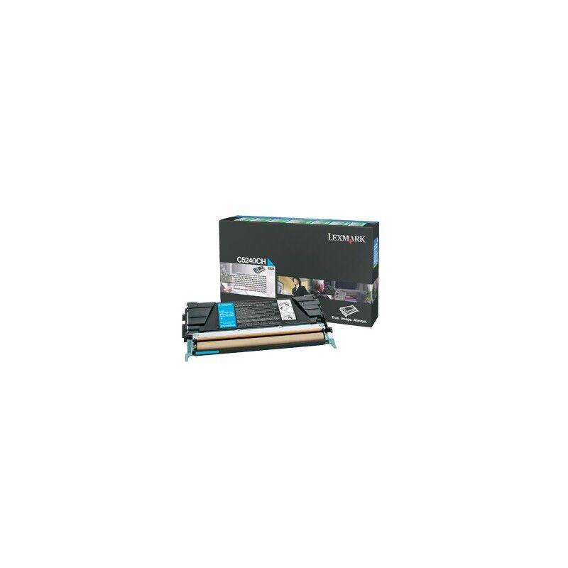 Lexmark Cartouche Toner C5X Cyan 5 000 pages LRP