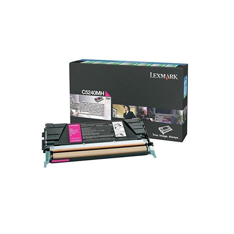 Lexmark Cartouche Toner C5X Magenta 5 000 pages LRP
