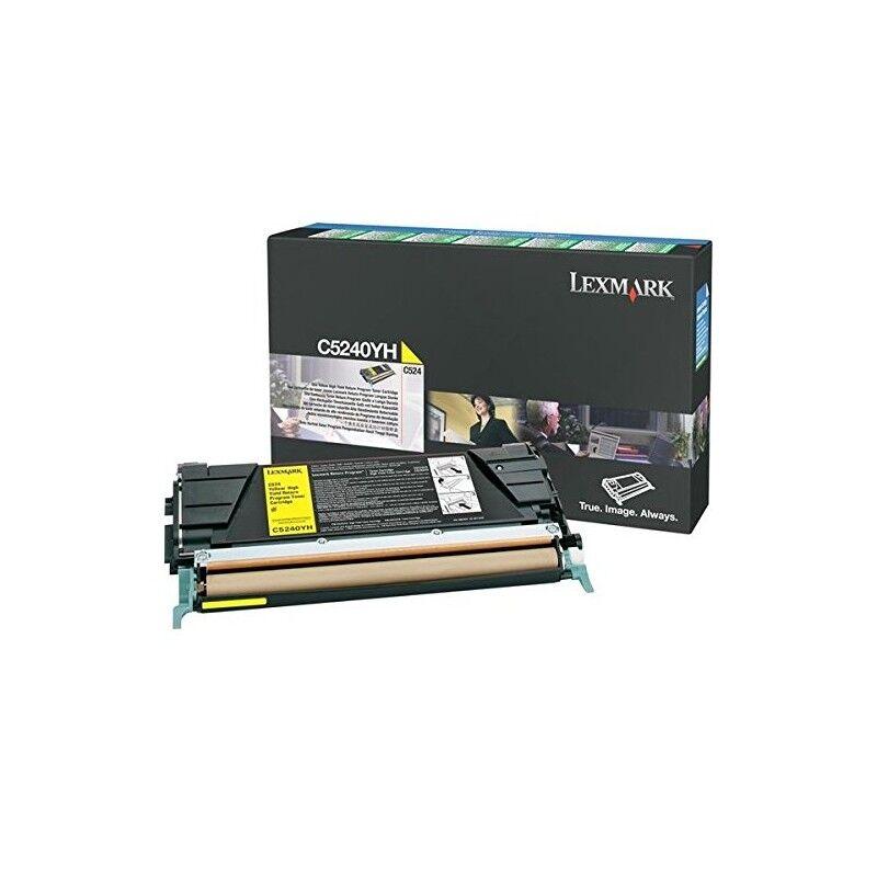 Lexmark Cartouche Toner C5X Jaune 5 000 pages LRP