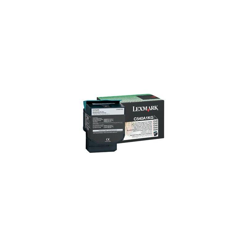 Lexmark Cartouche Toner C54X Noire 1 000 pages LRP