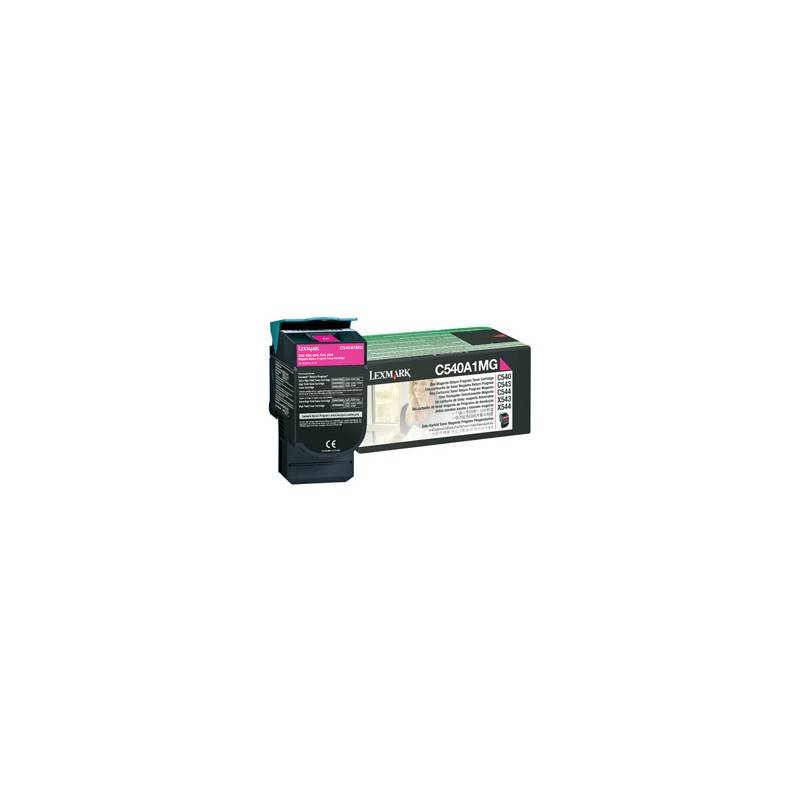 Lexmark Cartouche Toner C54X Magenta 1 000 pages LRP