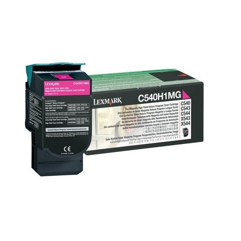 Lexmark Cartouche Toner C54X Magenta 2 000 pages LRP