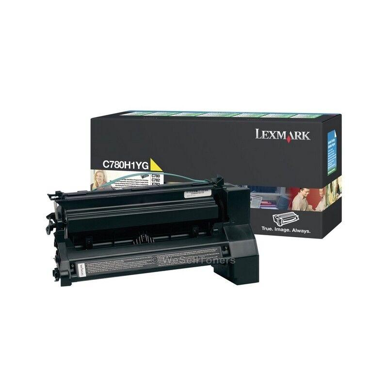 Lexmark Cartouche Toner C78X Jaune 10 000 pages LRP