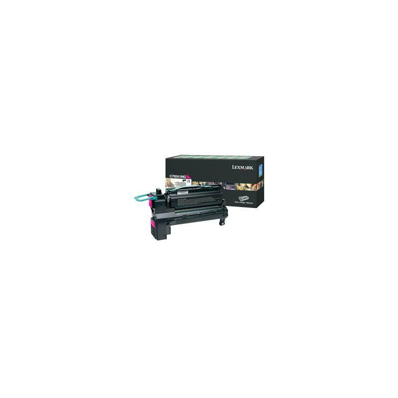 Lexmark Cartouche Toner C792 Magenta 6 000 pages LRP