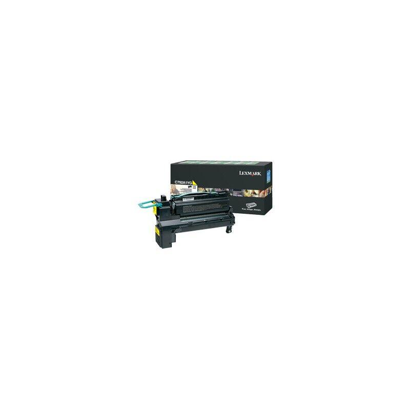 Lexmark Cartouche Toner C792 Jaune 6 000 pages LRP