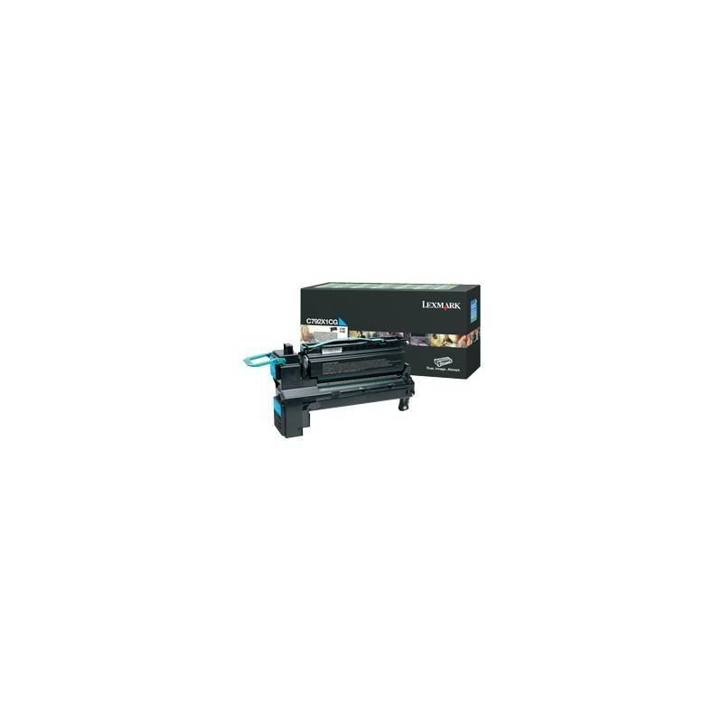 Lexmark Cartouche Toner C792 Cyan 20 000 pages LRP
