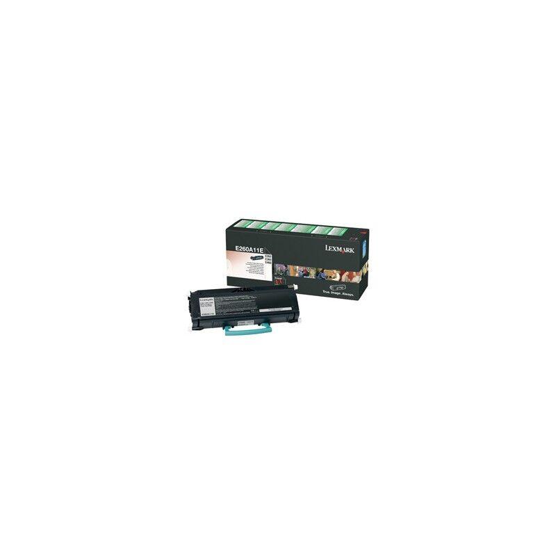 Lexmark Cartouche Toner E260 Noir 3 500 pages LRP