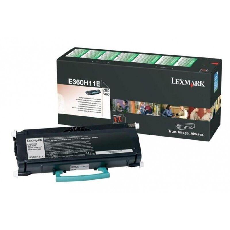 Lexmark Cartouche Toner E360 Haute Capacité Noir 9 000 pages LRP