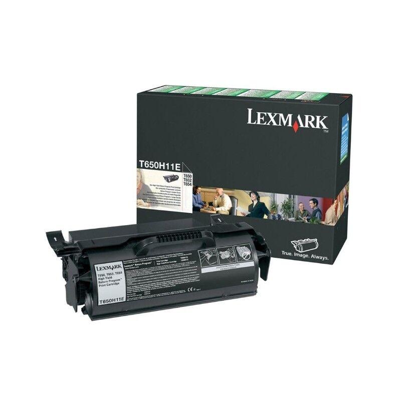 Lexmark Cartouche Toner T65X Noire 25 000 pages LRP