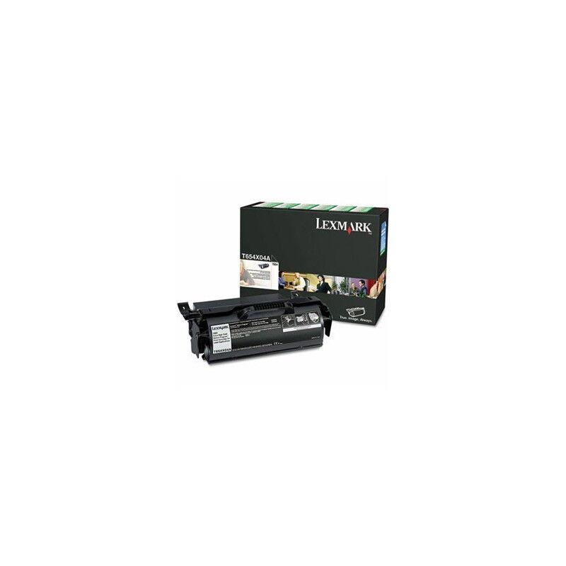 Lexmark Cartouche toner T65X THC Noire reconditionnée 36000 pages