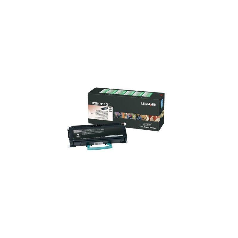 Lexmark Cartouche Toner X264 Haute Capacité Noire 9 000 pages LRP