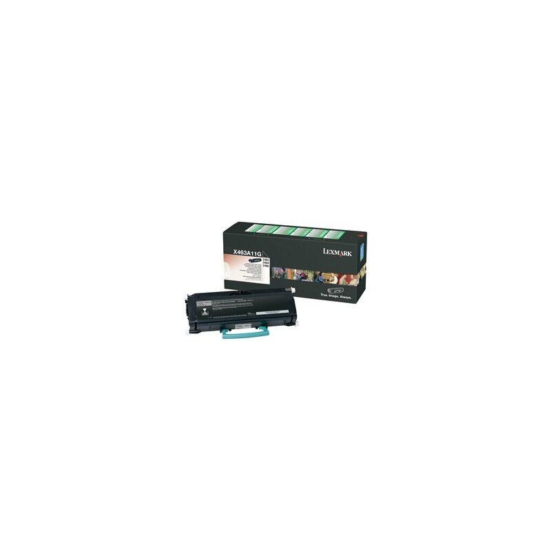 Lexmark Cartouche Toner X46X Noire 3 500 pages LRP