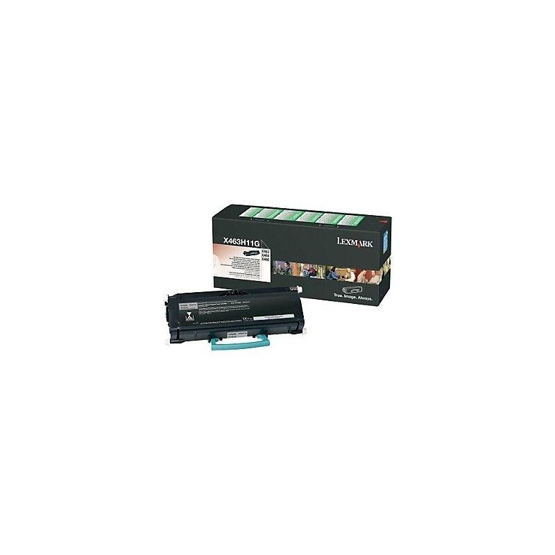 Lexmark Cartouche Toner X46X Haute Capacité Noire 9 000 pages LRP