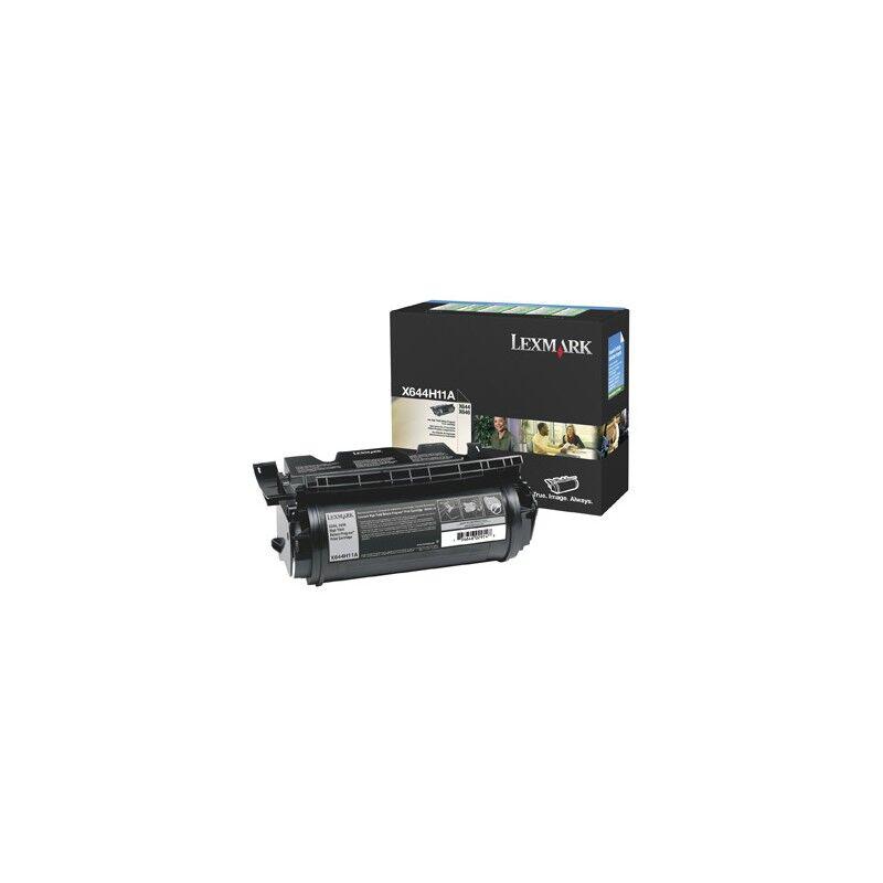 Lexmark Cartouche Toner X64X Haute Capacité Noir 21 000 pages LRP
