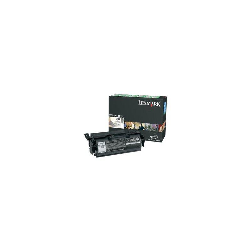 Lexmark Cartouche Toner X65X Noir 7 000 pages LRP