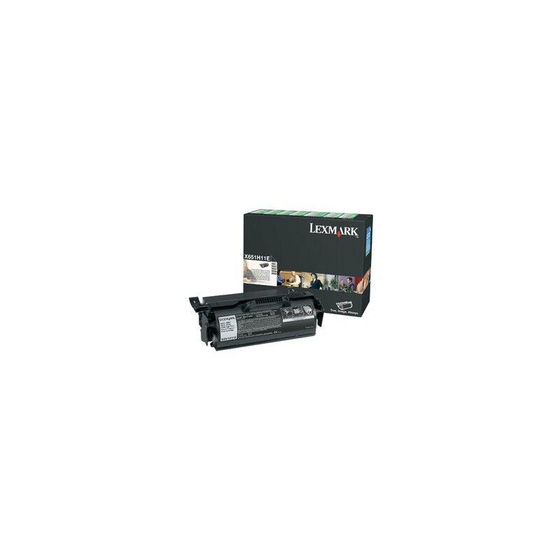 Lexmark Cartouche Toner X65X Haute Capacité Noir 25 000 pages LRP