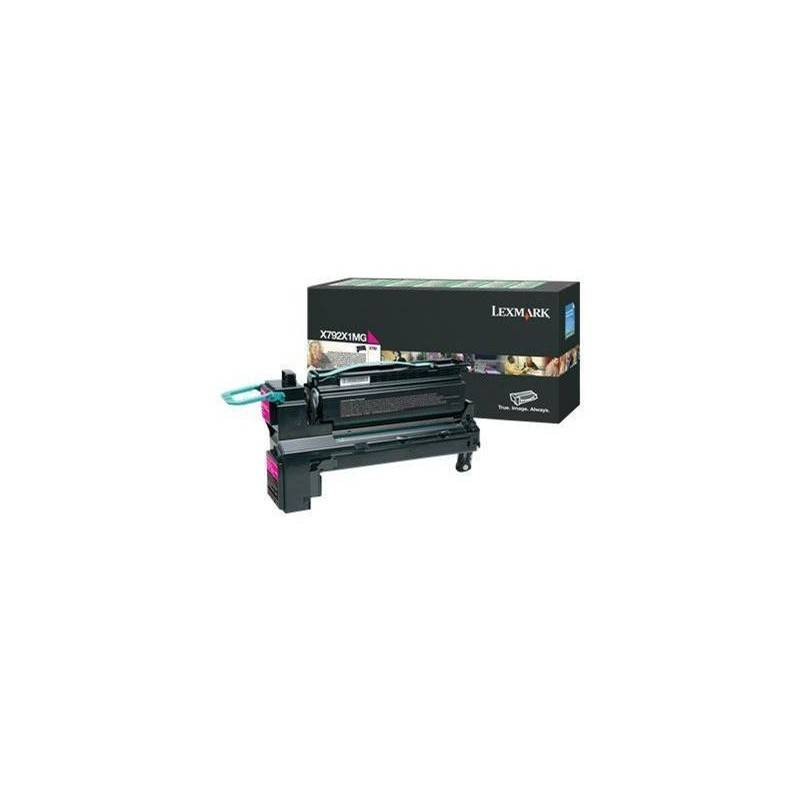 Lexmark Cartouche Toner X792 Magenta 20 000 pages LRP