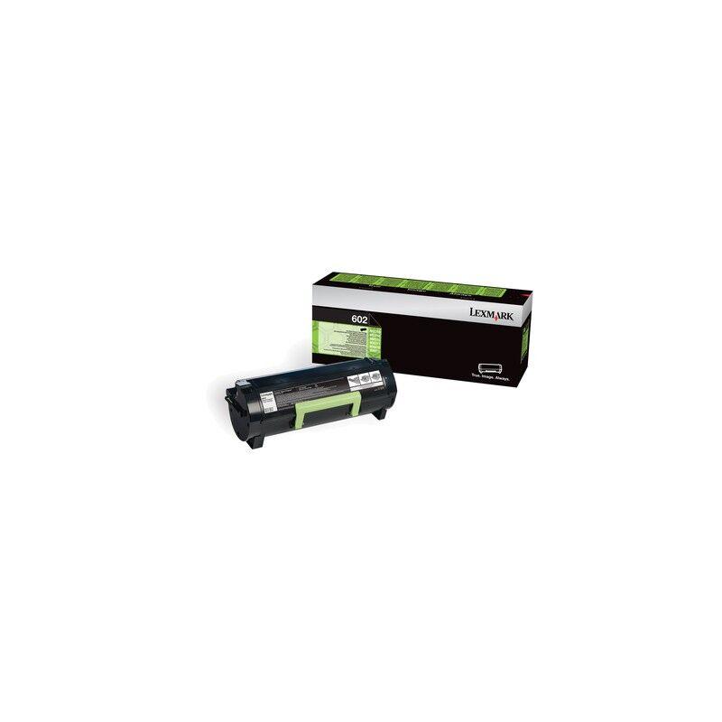 Lexmark Cartouche Toner 602 Noir 2 500 pages