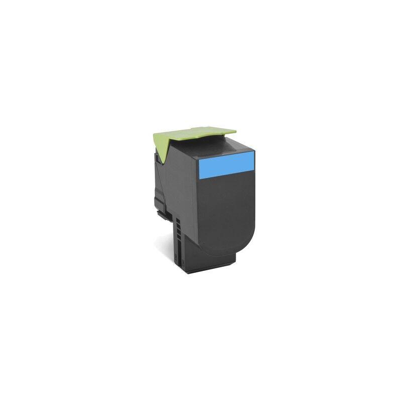 Lexmark Cartouche Toner 702HC Haute Capacité Cyan 3 000 pages