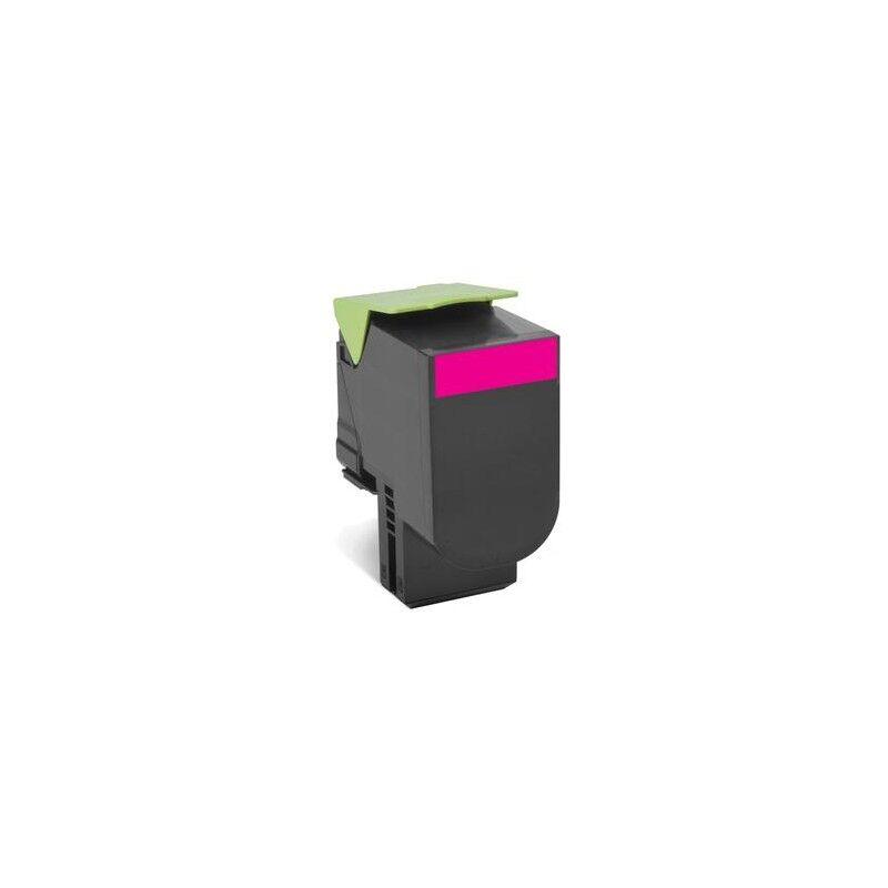 Lexmark Cartouche Toner 802HM Haute Capacité Magenta 3 000 pages