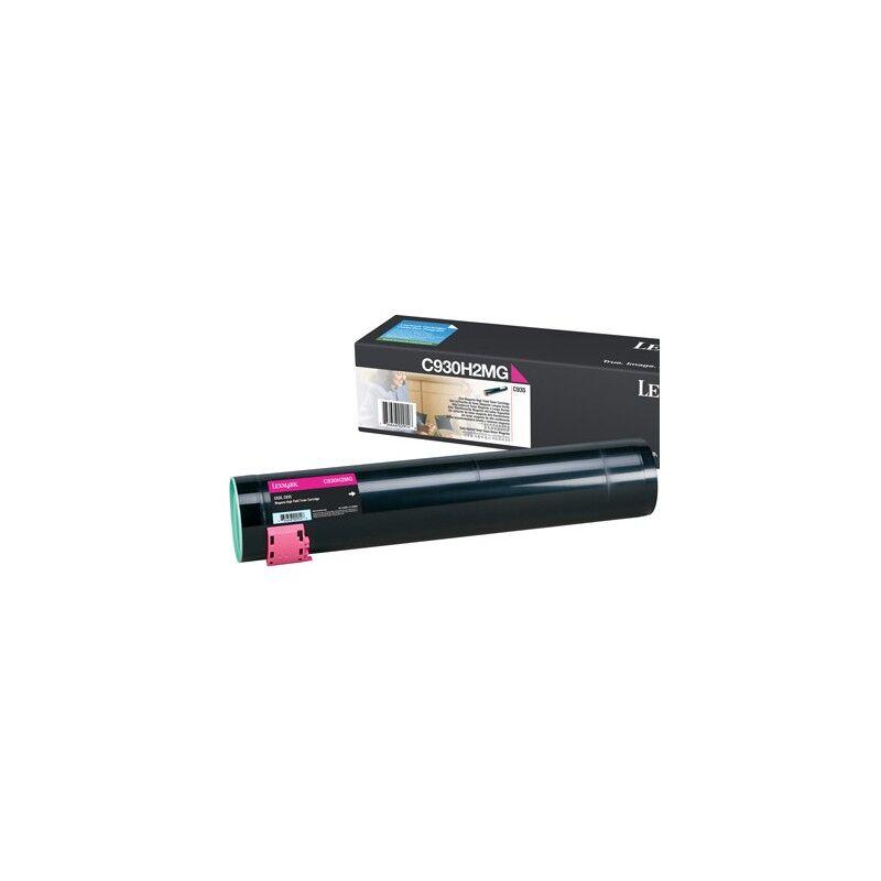 Lexmark Cartouche Toner C935 Haute Capacité Magenta 24 000 pages