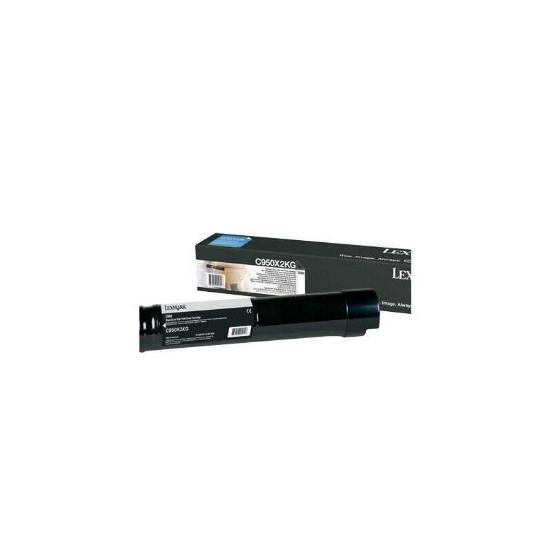 Lexmark Cartouche Toner C950 Très Haute Capacité Noir 32 000 pages