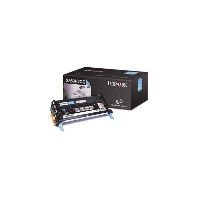 Lexmark Cartouche Toner X560 Haute Capacité Cyan 10 000 pages