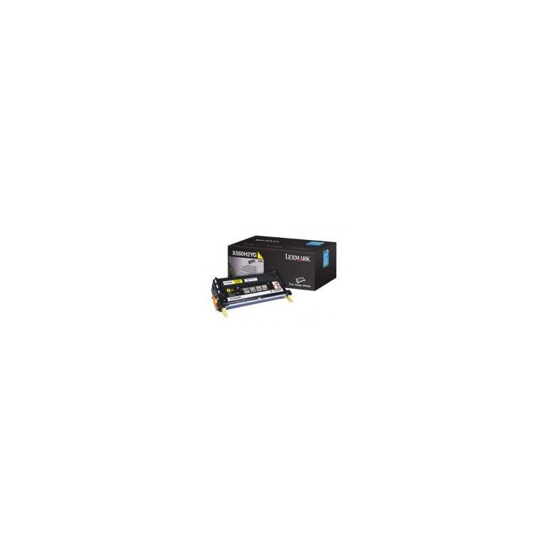Lexmark Cartouche Toner X560 Haute Capacité Jaune 10 000 pages