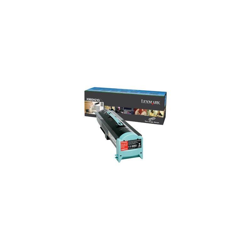 Lexmark Cartouche Toner X86X Haute Capacité Noir 35 000 pages