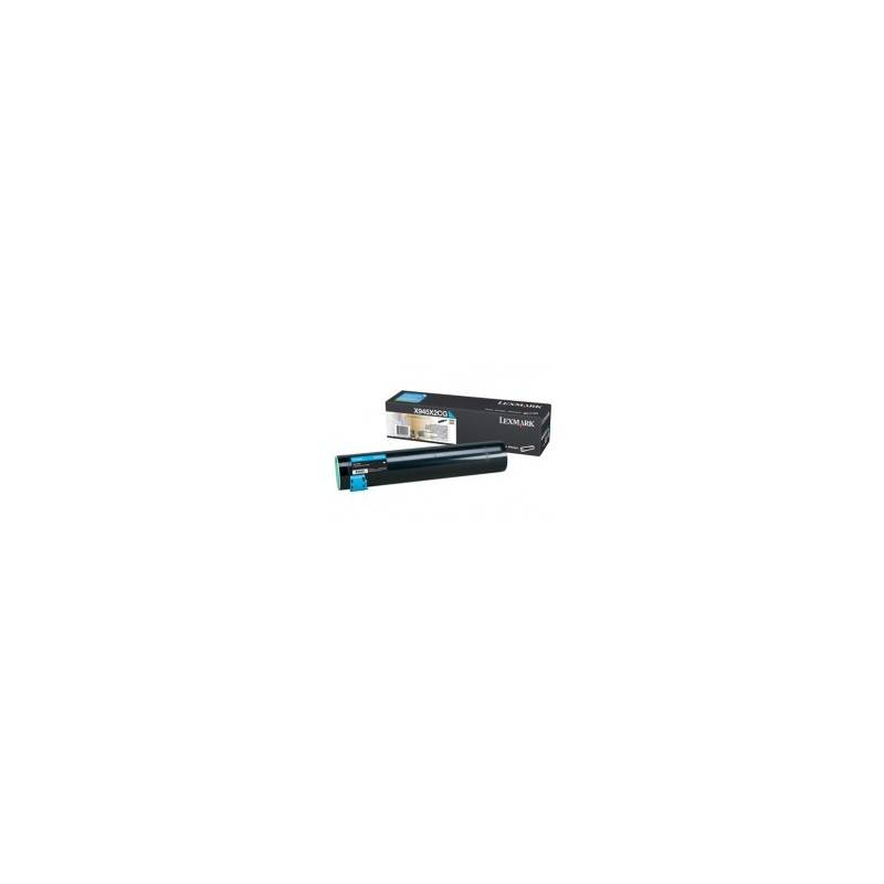 Lexmark Cartouche Toner X94X Haute Capacité Cyan 22 000 pages
