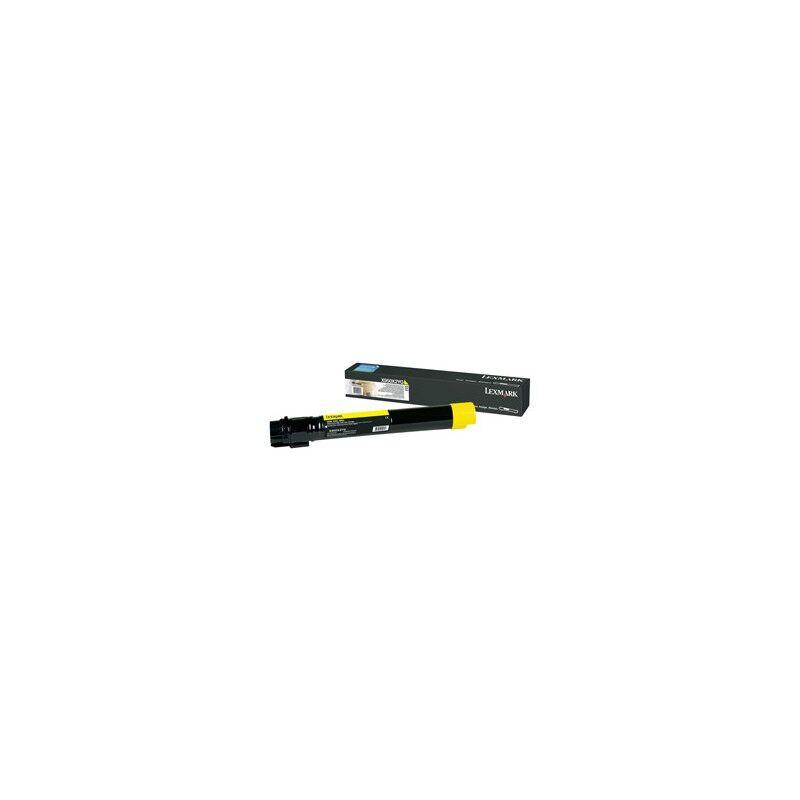 Lexmark Cartouche Toner X95X Très Haute Capacité Jaune 22 000 pages