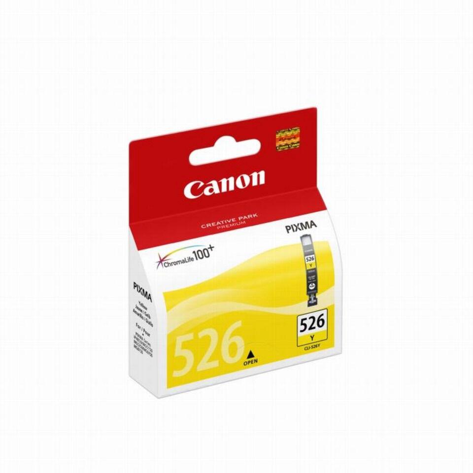 Cartouche jet d'encre canon n°526 jaune