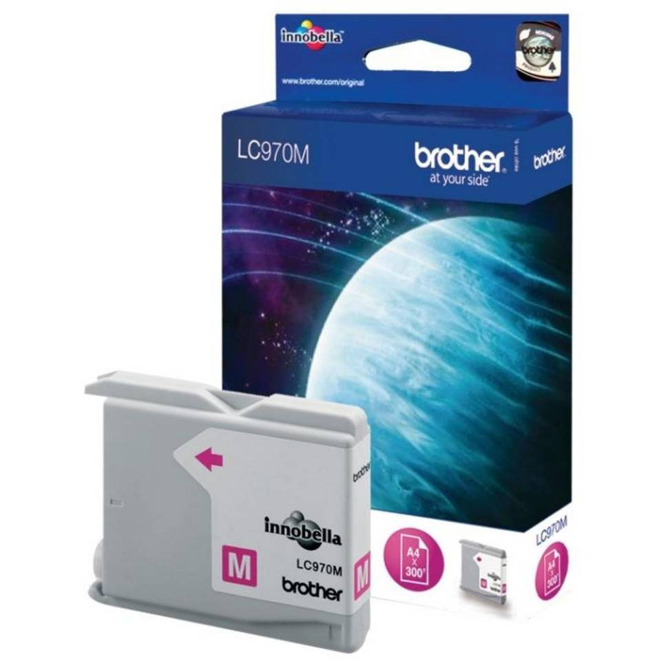 Cartouche jet d'encre brother magenta
