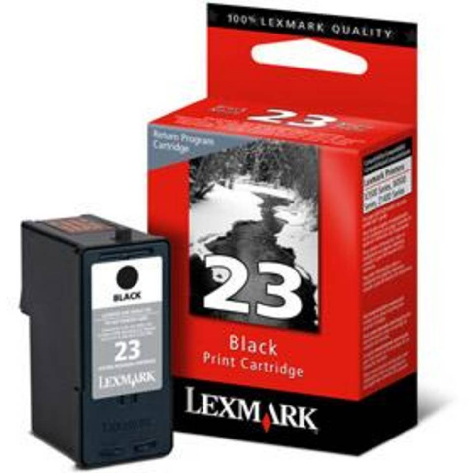Cartouche jet d'encre lexmark n°23 noir