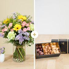 Interflora Chanson douce et ses amandes au chocolat