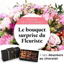 Interflora Le bouquet gourmand du fleuriste