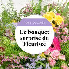 Interflora Le bouquet du fleuriste multicolore