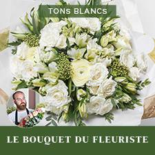 Interflora Bouquet du fleuriste Blanc