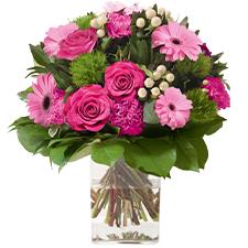 Interflora Amour éternel rose
